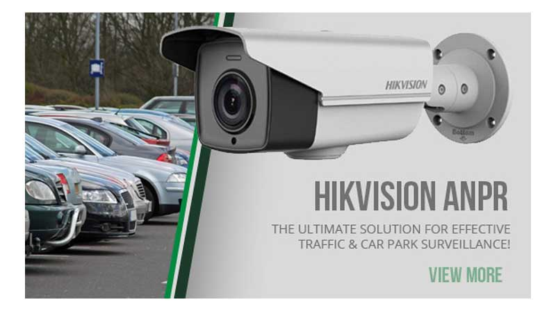 ANPR number plate recognition hik vision
