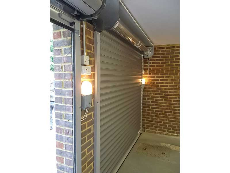 Automatic Roller Shutter Door Installation