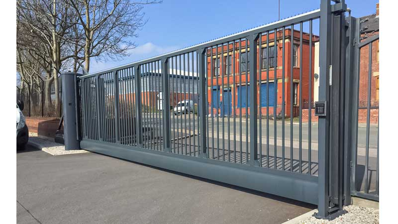 CG9000 Cantilevered Sliding Gates Bar Infill