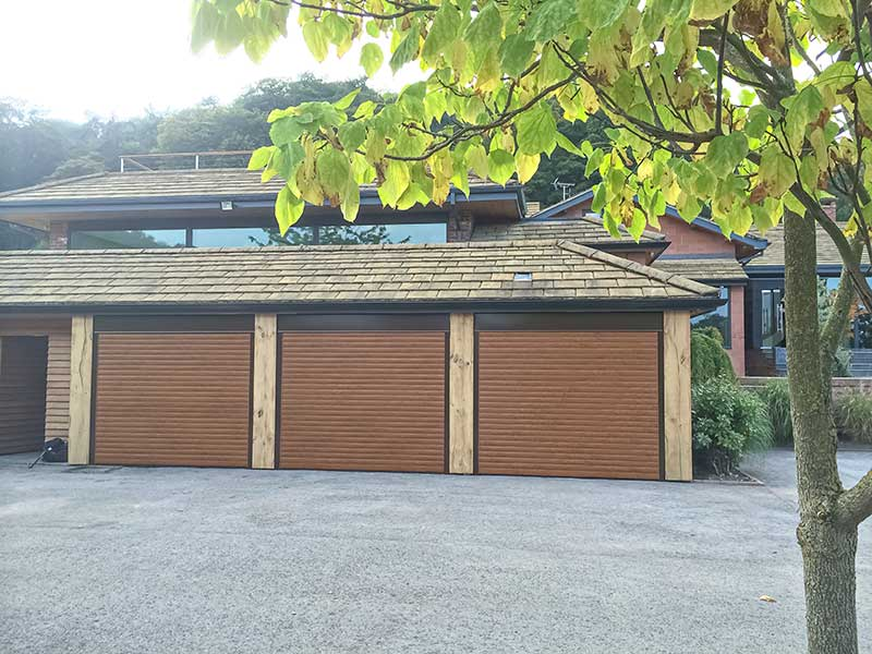 Rolle Shutters Wood finish