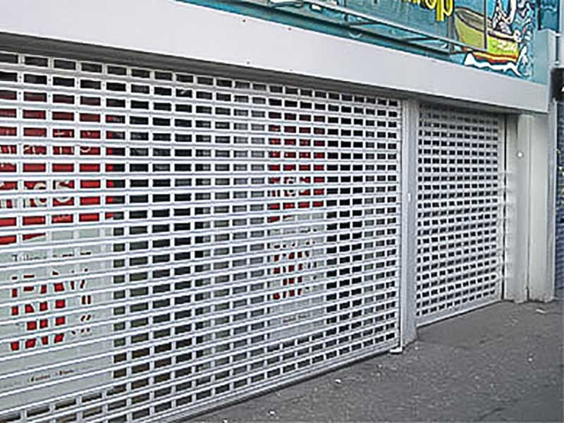 Roller shutters Perforated Roller Shutter