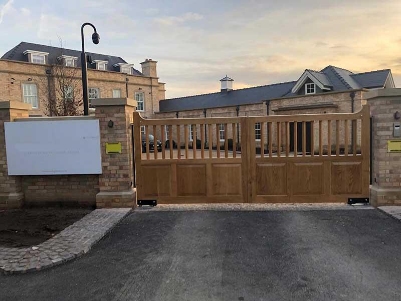 Wooden Gates - Oak Swing Gates