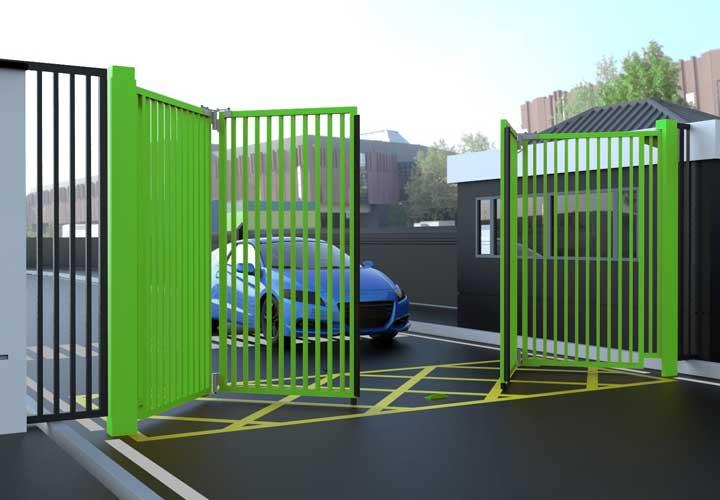 Automated Bi-Fold Speed Gates