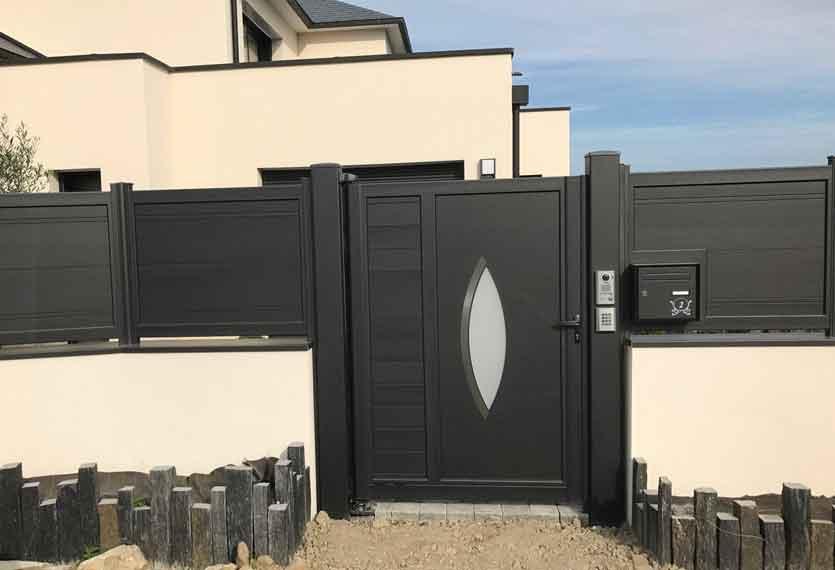 Horizal Akordia Collection - Aluminium Gate
