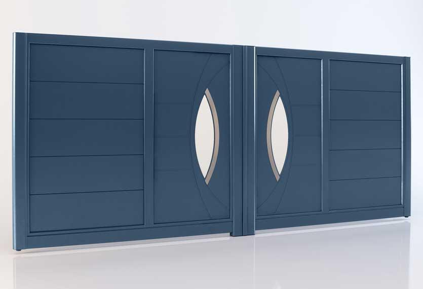 Horizal Akordia Collection - Antalya M1 Aluminium Swing Gate