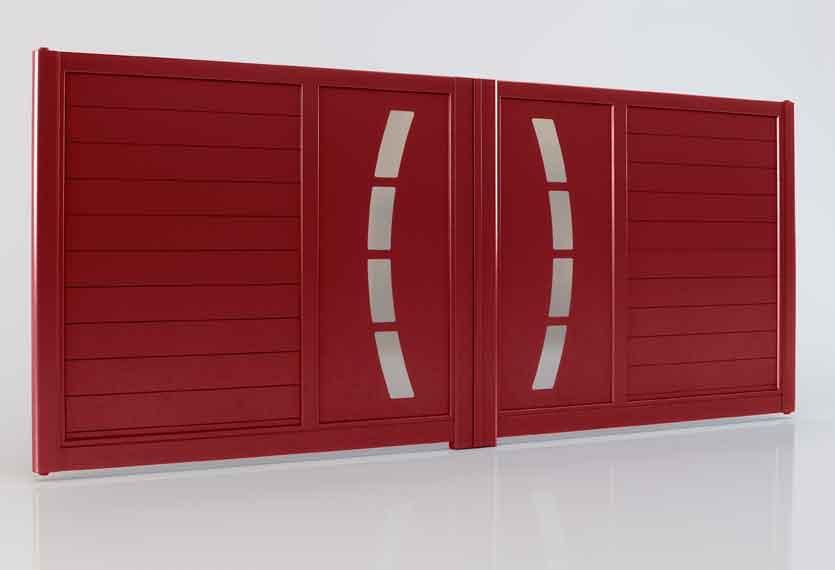 Horizal Akordia Collection - Cotim Aluminium Swing Gate
