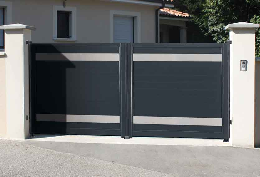 Horizal Anodised Collection - Kazal Aluminium Sliding Gates
