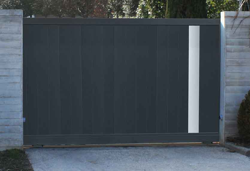 Horizal Anodised Collection - Ketis Aluminium Sliding Gate