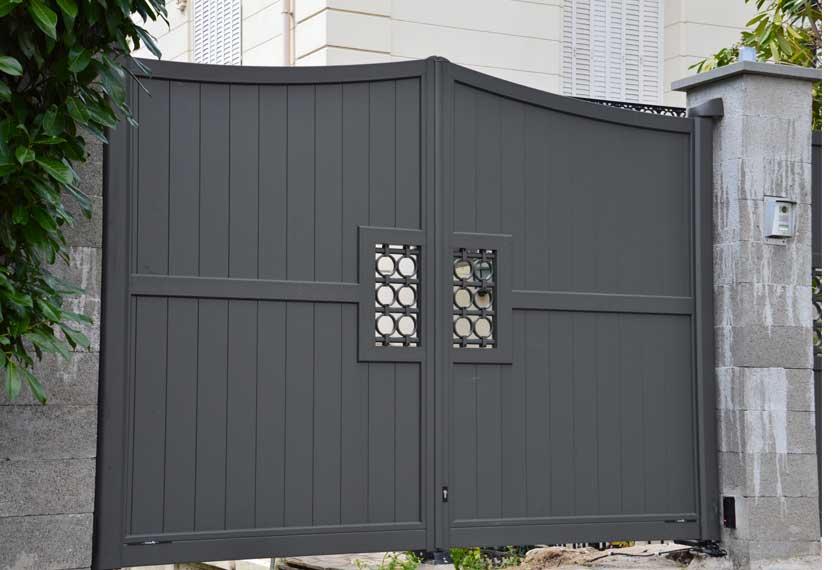 Horizal Confidence Collection - Garance Aluminium Gates