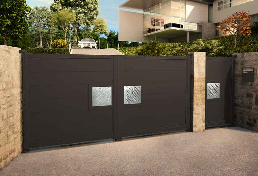 Horizal Night and Day Collection - Aluminium Gates - Daytime