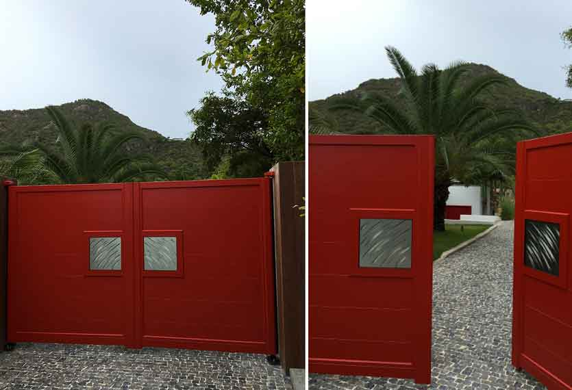 Horizal Night and Day Collection - Claws Design Aluminium Gates - Daytime