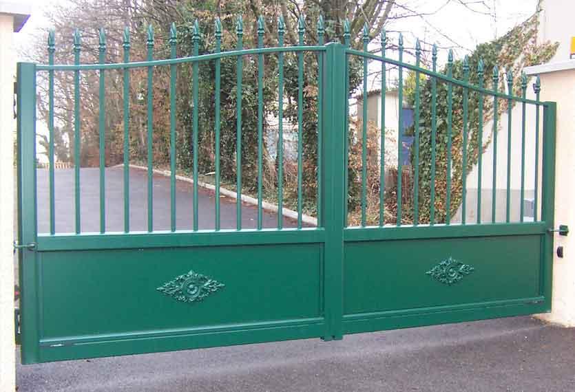 Horizal Traditional Collection - Ketmie Aluminium Swinging Gate