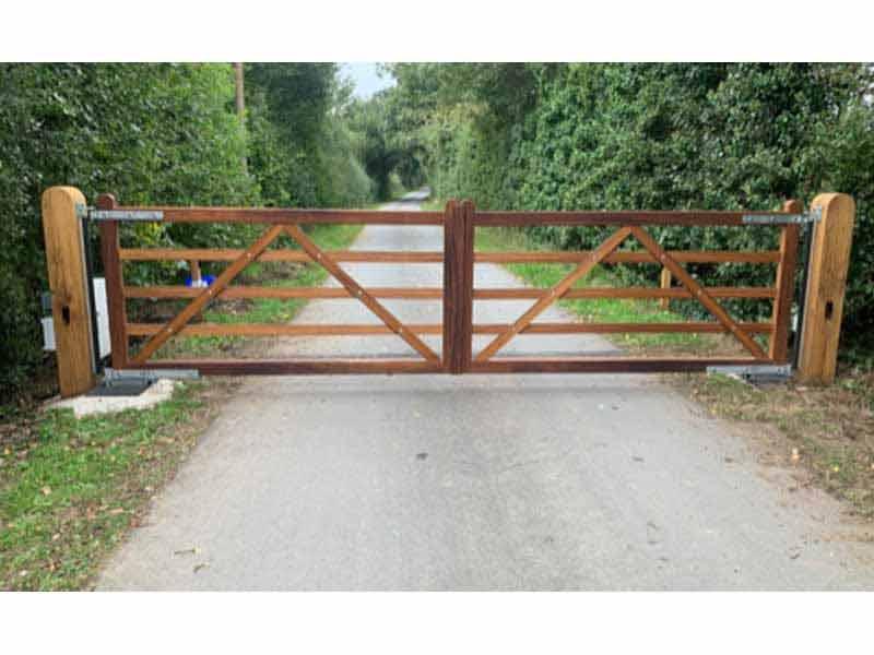Wooden Five Bar Gate